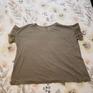 Ana Olive Green Blouse